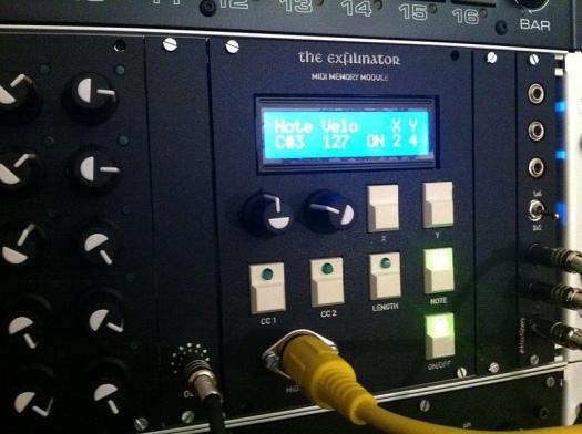 Digital MIDI Memory Module